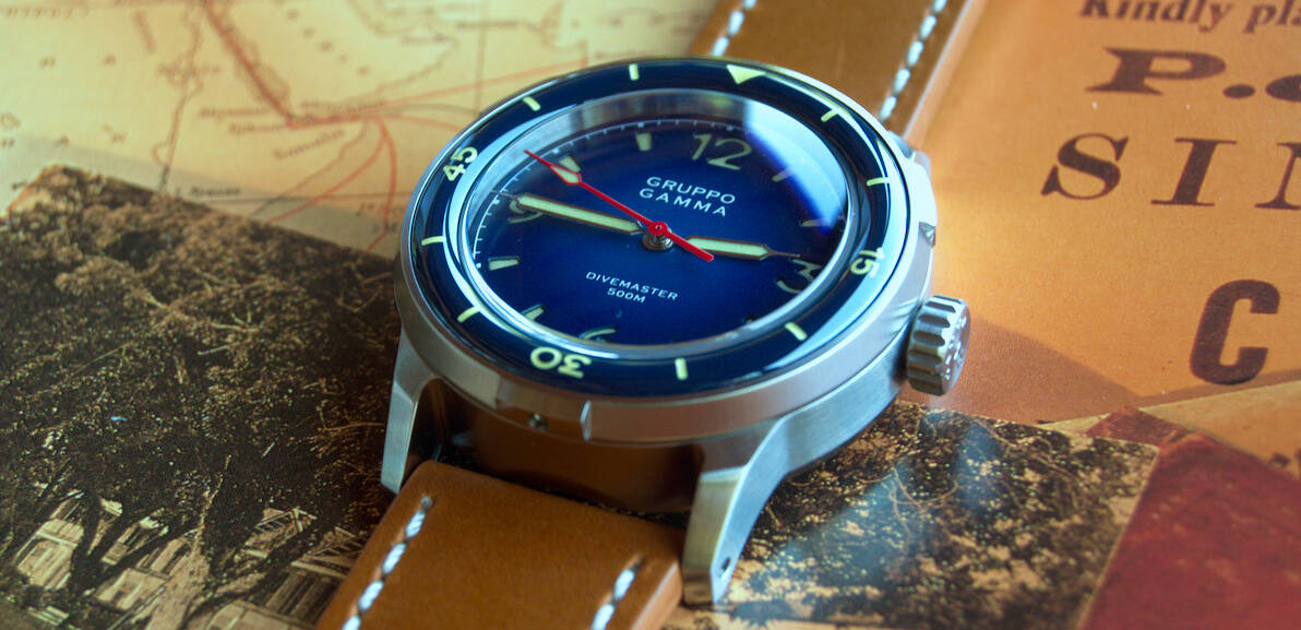 Gruppo Gamma Divemaster Dive Watch
