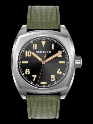 Venturo Field Watch #2 Sunburst Black